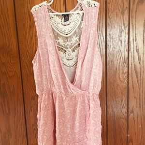 Lace Back Romper by Rue21